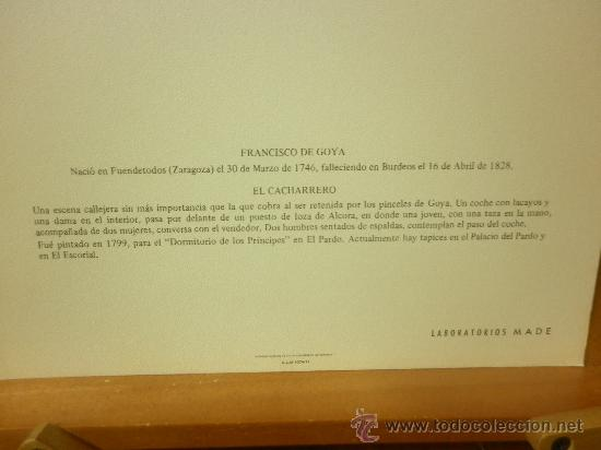 Arte: TRES LÁMINAS DEL PINTOR FRANCISCO DE GOYA - Foto 2 - 34388201