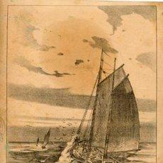 Arte: LÁMINA ESTUDIO DE MARINAS. VELERO. J. CAMINS - EDITOR MIGUEL A. SALVATELLA. BARCELONA - CIRCA 1920. Lote 34484277