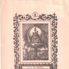 Arte: NTRA. SRA. DE TEJEDA. GARABALLA (CUENCA). N. SANCHÍS. VALENCIA. Lote 34641158