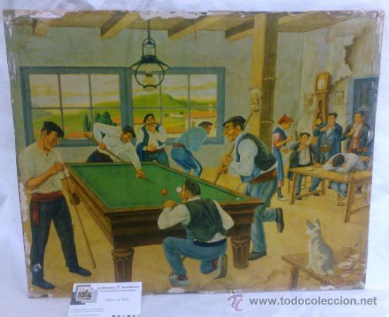 ANTIGUA LAMINA ILUSTRADA DE JOSE ARRUE Y VALLE. (Arte - Láminas Antiguas)