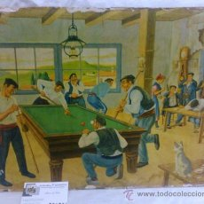 Arte: ANTIGUA LAMINA ILUSTRADA DE JOSE ARRUE Y VALLE.. Lote 34915740