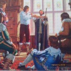 Arte: HISTORIA DE LA MEDICINA - HARVEY Y LA CIRCULACION DE L A SANGRE.. Lote 35310551