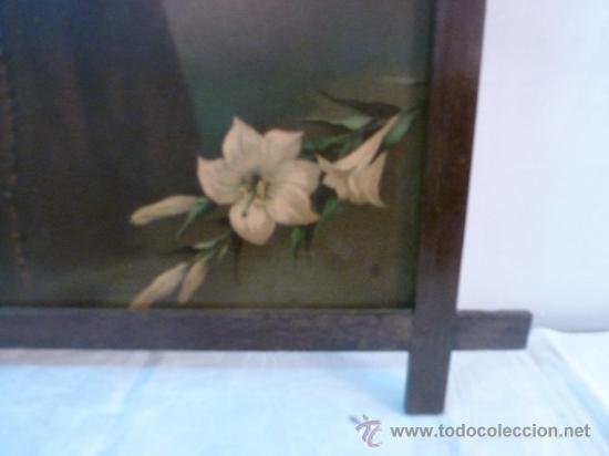 Arte: antigua lamina carton enmarcada - Foto 7 - 35552725