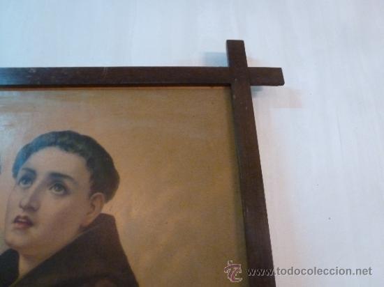 Arte: antigua lamina carton enmarcada - Foto 6 - 35552725