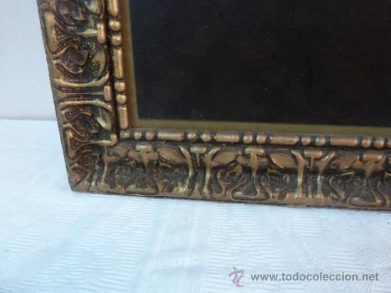 Arte: antigua lamina carton enmarcada santo cristo de manacor - Foto 11 - 35552625