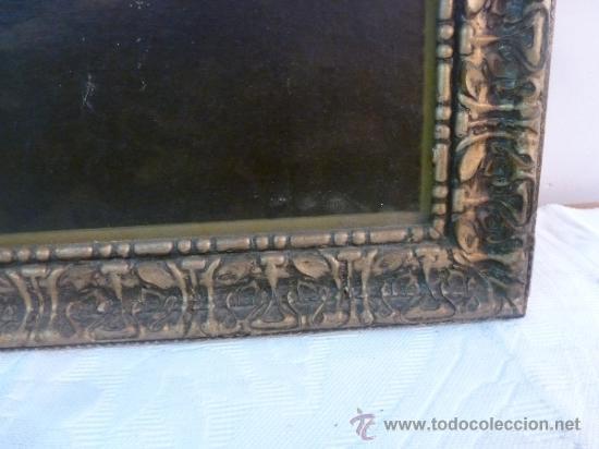 Arte: antigua lamina carton enmarcada santo cristo de manacor - Foto 10 - 35552625