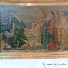 Arte: LAMINA DE PAPEL JESUS . Lote 35667965