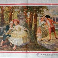 Arte: LOTE 3 LAMINAS DEL PINTOR ALONSO PEREZ (PRINCIPIOS DEL SIGLO XX). Lote 35856254