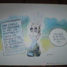 Arte: LAMINA S XIX LO MEJOR DE RICARDO Y NACHO. Lote 36384699