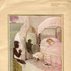 Arte: ILUSTRACIÓN ANTIGUA DE UNA OBRA DE 1920 DE JESSIE WILLEM SMITH (1863-1935). Lote 36610842