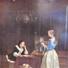Arte: IMPRESION: LA CARTA, PALACIO DE BUCKINGHAM, CON PERMISO ESPECIAL DE SU MAJESTAD EL REY. Lote 36780171