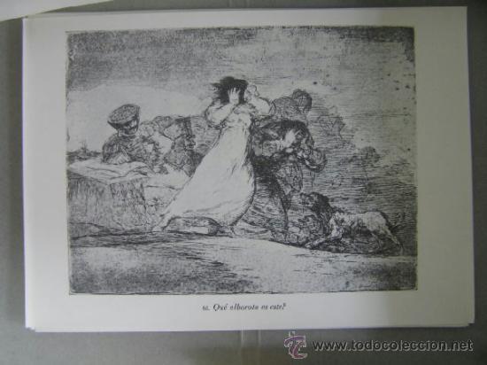 Arte: los desastres de la guerra,80 edicion 1983, laminas,agua fuerte,goya,, - Foto 3 - 36868190