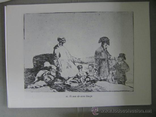 Arte: los desastres de la guerra,80 edicion 1983, laminas,agua fuerte,goya,, - Foto 2 - 36868190