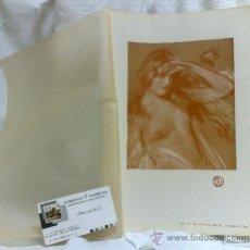 Arte: AÑO 1901.-THE COMING OF SPRING.-BY HAROLD SPEED. LAMINA ORIGINAL DE ÉPOCA, .-THE STUDIO-MAGAZINE.-. Lote 36942051