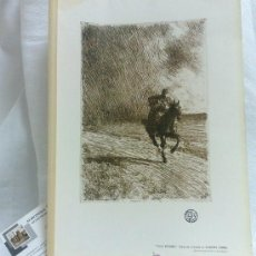 Arte: AÑO 1901.-THE STORM.-BY ANDERS ZORN. LAMINA ORIGINAL DE ÉPOCA, .-THE STUDIO-MAGAZINE.-. Lote 36942181