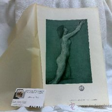 Arte: AÑO 1901.-A DEEP SEA IDYLL.-BY H.J. DRAPER.- LAMINA ORIGINAL DE ÉPOCA, .-THE STUDIO-MAGAZINE.-. Lote 36942745