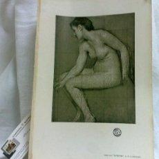 Arte: AÑO 1901.-BATHERS.- BY G .S. WATSON.- LAMINA ORIGINAL DE ÉPOCA, .-THE STUDIO-MAGAZINE.-. Lote 36943581
