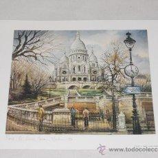 Arte: PARIS - - LAMINA A2 - MADE IN FRANCE. Lote 36972479