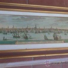 Arte: LAMINA DE AMSTERDAM VERKERKE REPRODUKTIES:MATHENS MERIAN 1593-1650 ENMARCADA EN MADERA. Lote 39147341