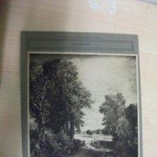 Art: ANTIGUA LÁMINA DE 1912 FRANCESA. LE CHAMP DE BLE. F. CONSTABLE. 20 X 29 CM. Lote 39270576