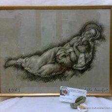 Arte: AÑO 1961. FDO. A. VILA ARRUFAT. Lote 29341019