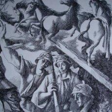 Arte: ALEGORIA DE LA GUERRA CIVIL.ANDRES C DENISS .LAMINA DE 18.5X24. Lote 39749589