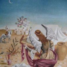 Arte: ALEGORIA DE LA GUERRA CIVIL.DOMINGO VILADOMAT.LAMINA DE 18.5X24. Lote 39749672