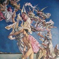 Arte: .ESCENA ALUSIVA A LA GUERRA CIVIL DE JOSE CABELLERO.1940.18.5X24. Lote 39800836
