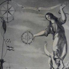 Arte: SALVADOR MORENO .ESCENA ALUSIVA A LA GUERRA CIVIL DE ANDRES CONEJO .1940.18.5X24. Lote 39800977