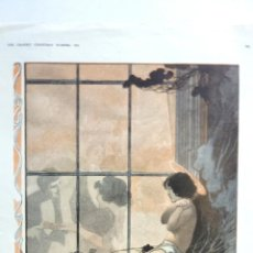 Arte: LÁMINA FORGOTTEN A CHRISTMAS FANTASY. AUTOR CHARLES ROBINSON .THE GRAPHICS CHRISTMAS Nº 1913. Lote 40039921