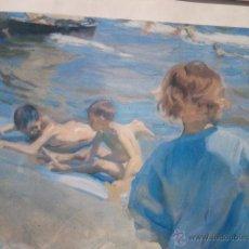 Arte: NIÑOS EN LA PLAYA'. JOAQUÍN SOROLLA . Lote 40339997