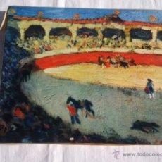 Arte: COPIA COURSES DE TAUREAUX DE PICASSO. REPRODUCCION LES EDITIONS BRAUN 1947. Lote 40357688