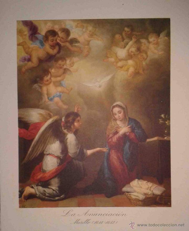 Arte: LOTE DE 12 LÁMINAS ANTIGUAS DEL MUSEO DEL PRADO,JUAN BARGUÑO Y CIA (33X24) - Foto 2 - 40606106