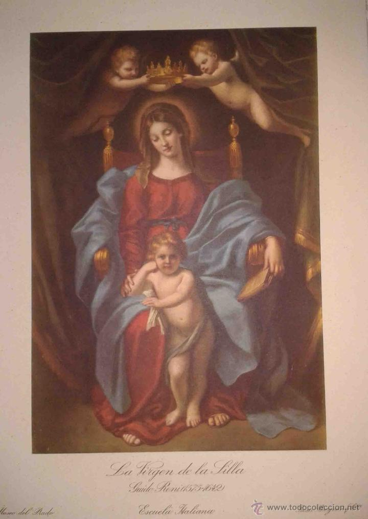 Arte: LOTE DE 12 LÁMINAS ANTIGUAS DEL MUSEO DEL PRADO,JUAN BARGUÑO Y CIA (33X24) - Foto 4 - 40606106