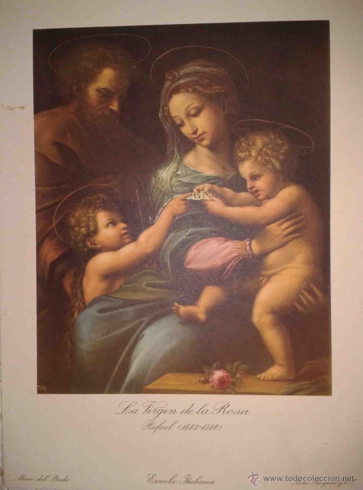 Arte: LOTE DE 12 LÁMINAS ANTIGUAS DEL MUSEO DEL PRADO,JUAN BARGUÑO Y CIA (33X24) - Foto 5 - 40606106