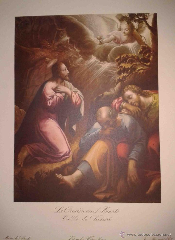 Arte: LOTE DE 12 LÁMINAS ANTIGUAS DEL MUSEO DEL PRADO,JUAN BARGUÑO Y CIA (33X24) - Foto 12 - 40606106