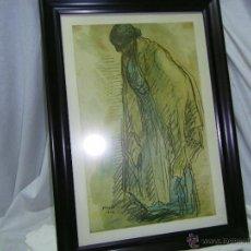Arte: LAMINA NUMERADA-FIRMADA-ENMARCADA-NONELL-AÑO 1906. Lote 40790940