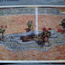 Arte: LÁMINA DE LA LETRA E. DE MUESTRARIO DECARLOS GONZALEZ E HIJO. CERÁMICA SEVILLANA. E.CONSERVACION . Lote 40845910