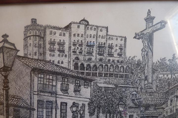 Arte: BONITA IMAGEN DE UNA PLAZA DE GRANADA - Foto 3 - 41083108