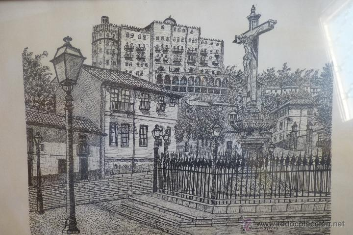 Arte: BONITA IMAGEN DE UNA PLAZA DE GRANADA - Foto 4 - 41083108