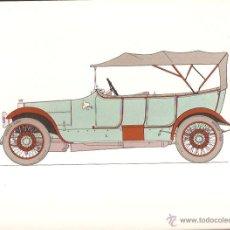 Arte: LÁMINA HISTORIA AUTOMOVIL * ARGYLL 15/30 -1910 * - LABORATORIOS AMOR AÑO 1966. Lote 41230092