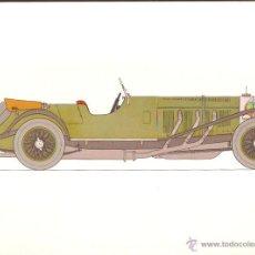 Arte: LÁMINA HISTORIA AUTOMOVIL * MERCEDES BENZ 32 /220 -1928 * - LABORATORIOS AMOR AÑO 1966. Lote 41230228