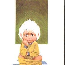 Arte: LÁMINA * NIÑO ENFADADO * - LABORATORIOS FARMITALIA AÑO 1967. Lote 41230491