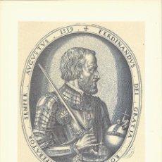 Arte: RETRATO DE FERNANDO, EMPERADOR DE ALEMANIA, HERMANO DE CARLOS V. Lote 41271453