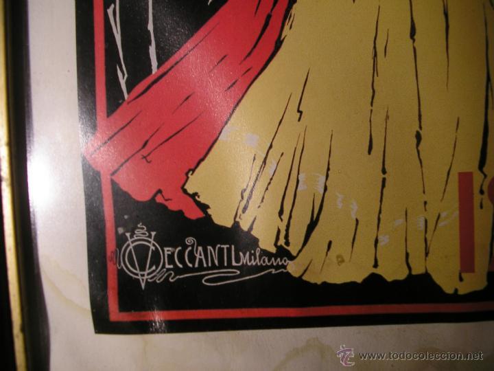 Arte: CAFFÉ ESPRESSO SERVIZIO ISTANTANEO,LÁMINA ENMARCADA CON CRISTAL - Foto 11 - 41586862