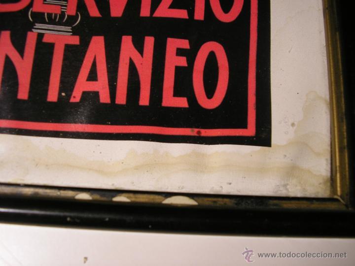 Arte: CAFFÉ ESPRESSO SERVIZIO ISTANTANEO,LÁMINA ENMARCADA CON CRISTAL - Foto 13 - 41586862