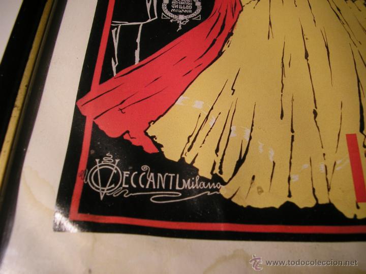 Arte: CAFFÉ ESPRESSO SERVIZIO ISTANTANEO,LÁMINA ENMARCADA CON CRISTAL - Foto 14 - 41586862