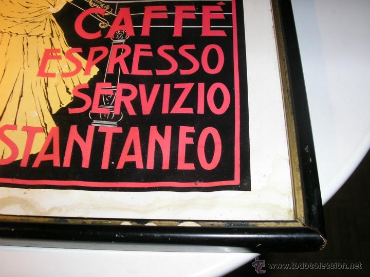 Arte: CAFFÉ ESPRESSO SERVIZIO ISTANTANEO,LÁMINA ENMARCADA CON CRISTAL - Foto 17 - 41586862