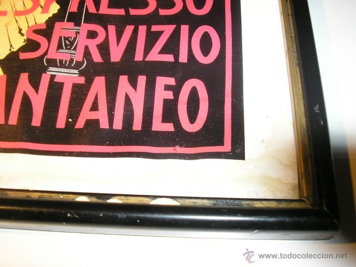Arte: CAFFÉ ESPRESSO SERVIZIO ISTANTANEO,LÁMINA ENMARCADA CON CRISTAL - Foto 20 - 41586862