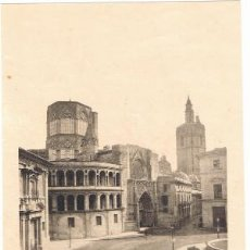Arte: LAMINA- VALENCIA. LA CATEDRAL 26X18 CM. 1900 FOTOTIPIA HAUSER Y MENET. Lote 41589511